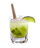 Caipirinha cocktail Royalty Free Stock Photos