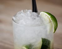 Caipirinha Cocktail Royalty Free Stock Image