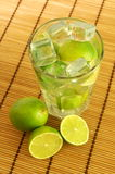 Caipirinha and copyspace Stock Photography
