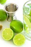 Caipirinha and copyspace Royalty Free Stock Photo