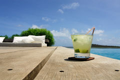Caipirinha drink Royalty Free Stock Photos