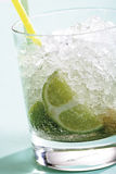 Caipirinha drink, close-up Royalty Free Stock Photos