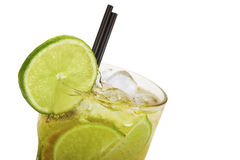 Caipirinha on ice Royalty Free Stock Images