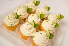 Caipirinha, Muffins, Cake, Cream Royalty Free Stock Photography