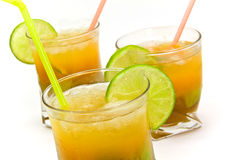Caipirinha - National Cocktail of Brazil Made with Royalty Free Stock Photos