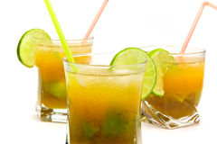 Caipirinha - National Cocktail of Brazil Made with Stock Photography