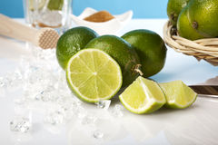 Caipirinha recipe Royalty Free Stock Images