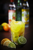 Caipirovska cocktail Stock Images