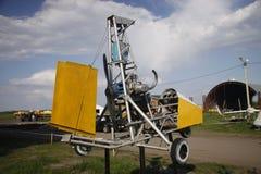 Cair-planador de Moto Fotografia de Stock Royalty Free