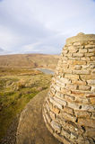 Cairn. In the Yorkshire Dales, high above Swaledale royalty free stock images