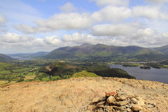 Cairn, Catbells Royalty Free Stock Photography