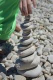 Cairn de roche images stock