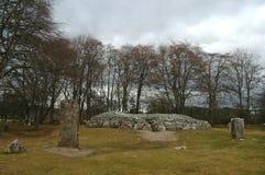 Cairn di Clava, Scozia Immagine Stock Libera da Diritti