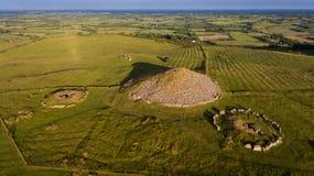 Cairn di Loughcrew contea Meath l'irlanda immagini stock libere da diritti