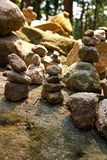 Cairn di pietra Fotografia Stock