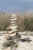 Cairn en pierre Images stock