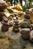Cairn en pierre Photographie stock