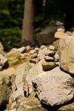 Cairn en pierre Image libre de droits