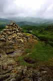 Cairn on Holme Fell Stock Photography