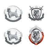 Cairn logos Royalty Free Stock Photos