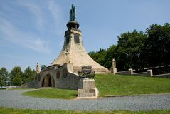 Cairn of Peace of Austerlitz. Czech republic Stock Image