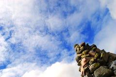 Cairn (pile en pierre) Photo libre de droits