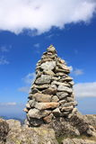 Cairn in Pyrenees Fotografia Stock