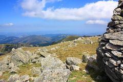 Cairn in Pyrenees Royalty Free Stock Photo