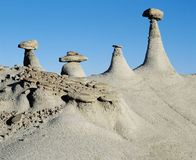 Cairn rock formations Royalty Free Stock Image