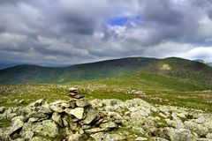 Cairn on the Summit Royalty Free Stock Image