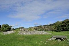 Cairn a temperatura ambiente neolitico Fotografia Stock Libera da Diritti