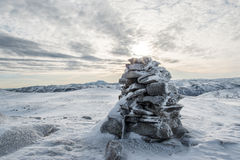 Cairn in Tinn Stock Images