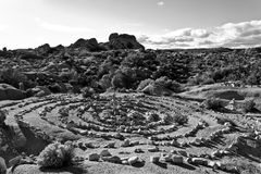 Cairn Zen Garden Stock Photography