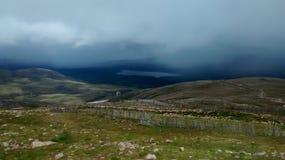Cairngorm Mountains. Cairngorm Mountain Scotland Highlands Mist Stock Photography