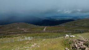Cairngorm Mountains. Cairngorm Mountain Scotland Highlands Mist Royalty Free Stock Images