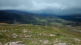 Cairngorm Mountains. Cairngorm Mountain Scotland Highlands Mist Royalty Free Stock Photo