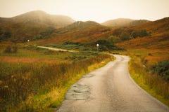 Cairngorms在秋天 库存图片