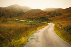 Cairngorms in autunno Immagine Stock