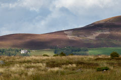 CAIRNGORMS, BADENOCH and STRATHSPEY/SCOTLAND - AUGUST 26 : House Stock Image
