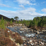 Cairngorms mountains, Gleann Laoigh Bheag, Scotland in spring Stock Images