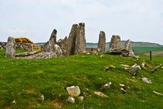 Cairnholy Stones Stock Photo