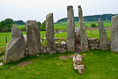 Cairnholy Stones Stock Photography
