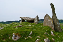 Cairnholy Stones Stock Image