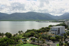 Cairns city 1788 Stock Image