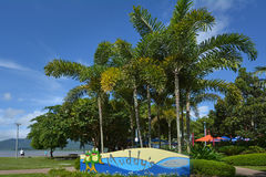 Cairns Esplanade in Queensland Australia Royalty Free Stock Photo