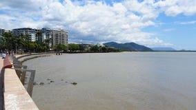 Cairns Esplanade in Queensland, Australia stock image