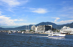 Cairns Harbor Royalty Free Stock Images