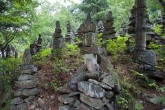 Cairns in Korea. Stock Images