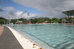 Cairns Lagoon, the Spot to Relax Stock Photos