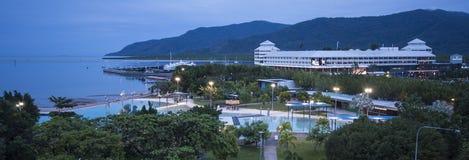 Cairns par nuit Photos libres de droits